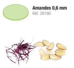 DISQUE ÉMINCEUR AMANDES 0,6 MM