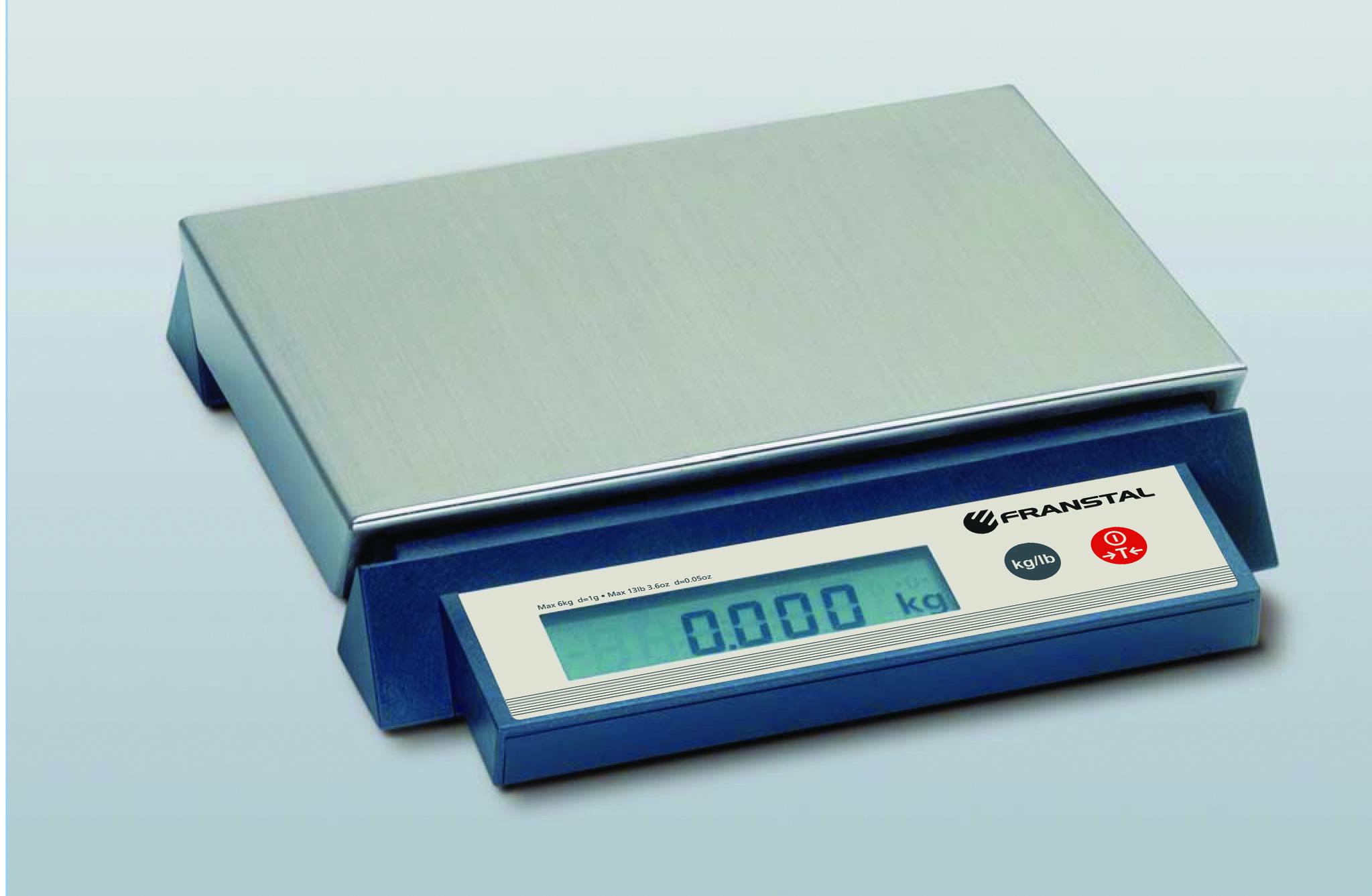 BALANCE COMPACTE ÉTANCHE IP65 30 KG / 5 G