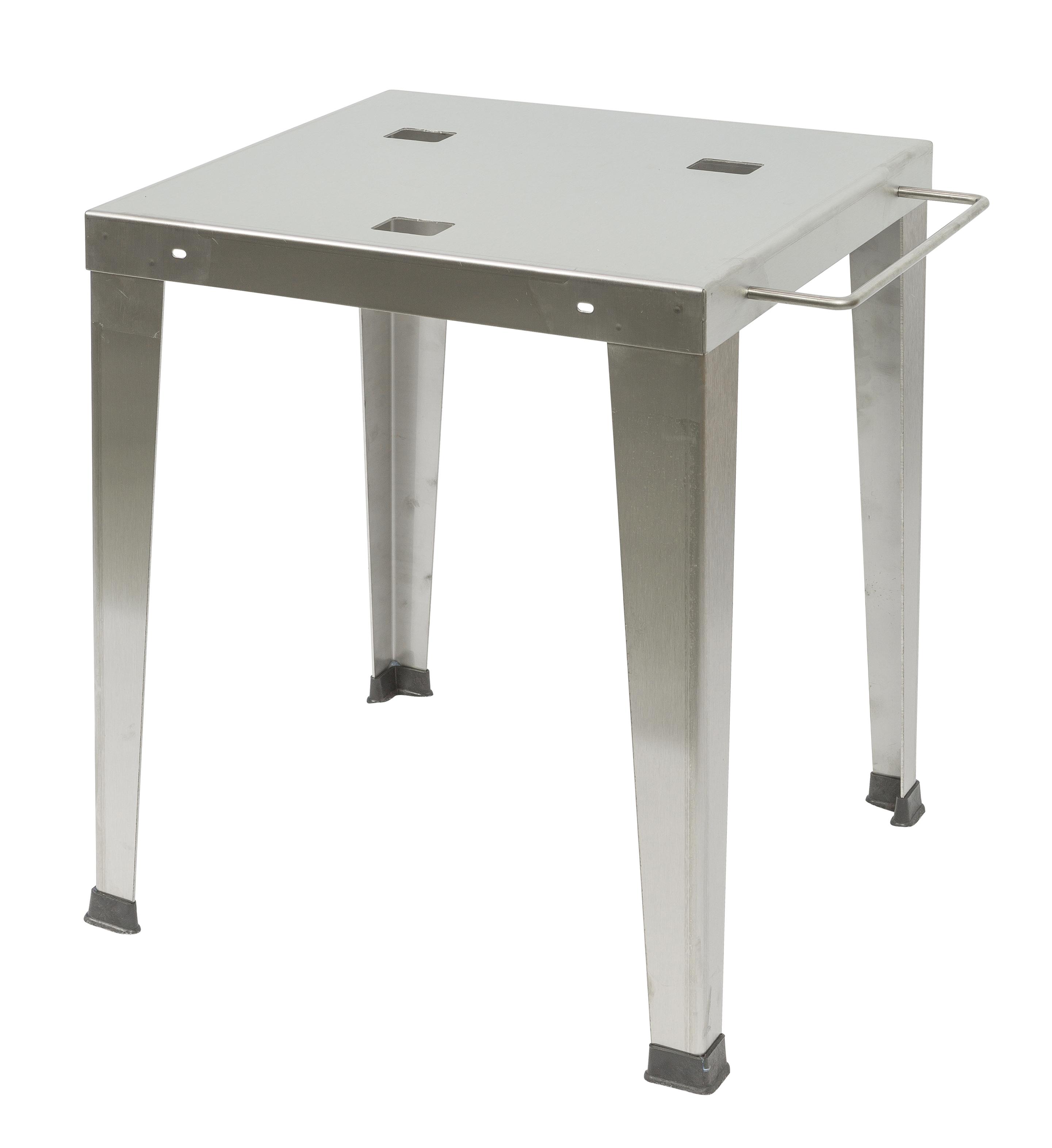 TABLE FILTRE INOX POUR T5 E/T8E