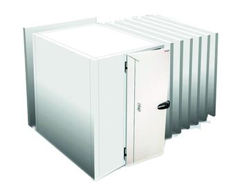 MINIBOX ISO 08 AVEC SOL DIM. INT. 1800X2100X2100H